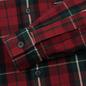 Мужская рубашка Polo Ralph Lauren Twill Plaid Elbow Patch Lamb Suede Vibe Red/Tan Multi фото - 3