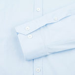 Мужская рубашка Pringle of Scotland Slim Fit Pale Blue фото- 3