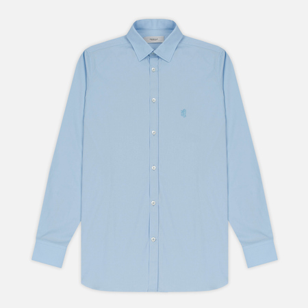 Мужская рубашка Pringle of Scotland Slim Fit Pale Blue
