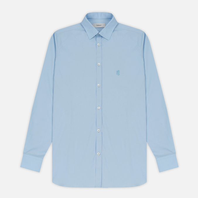 Мужская рубашка Pringle of Scotland Slim Fit Pale Blue