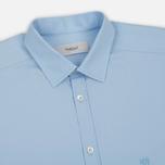 Мужская рубашка Pringle of Scotland Slim Fit Pale Blue фото- 1