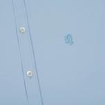 Мужская рубашка Pringle of Scotland Slim Fit Pale Blue фото- 2