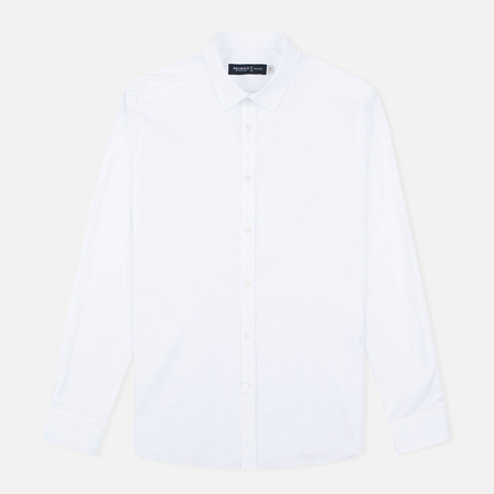 Мужская рубашка Pringle of Scotland Slim Fit White