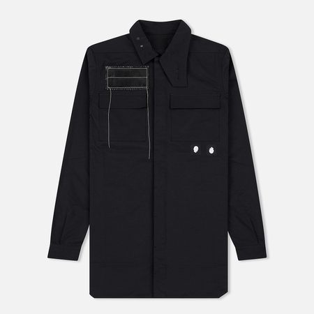 Мужская рубашка Rick Owens DRKSHDW Woven Filed Black