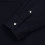 Мужская рубашка Saturdays Surf NYC Angus Broken Twill Midnight фото- 3