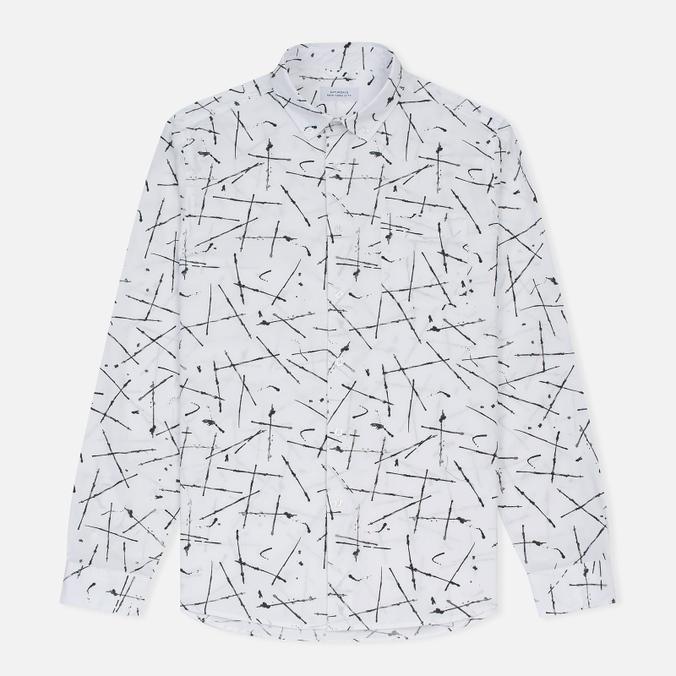 Мужская рубашка Saturdays Surf NYC Crosby Marks Print Multicolor