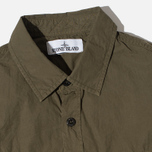 Мужская рубашка Stone Island Garment Dyed Military Green фото- 1