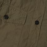 Мужская рубашка Stone Island Garment Dyed Military Green фото- 2