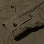 Мужская рубашка Stone Island Garment Dyed Military Green фото- 4