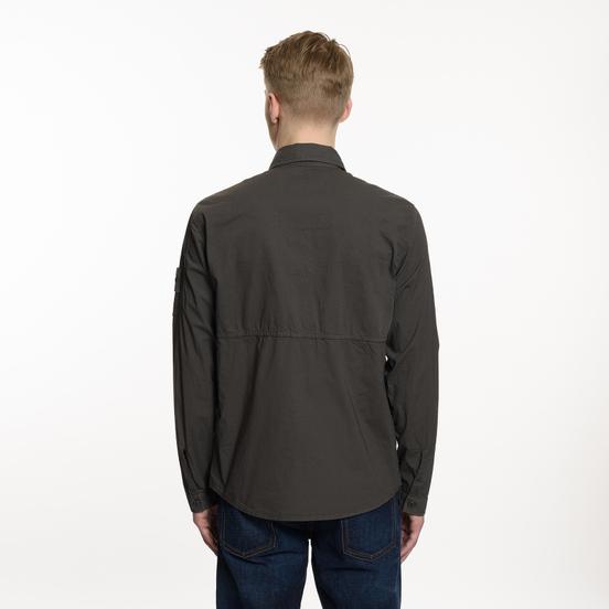 Мужская рубашка Stone Island Ghost Overshirt Grey