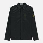 Мужская рубашка Stone Island Nylon Metal Overshirt Dark Green фото- 0