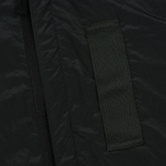 Мужская рубашка Stone Island Nylon Metal Overshirt Dark Green фото- 3