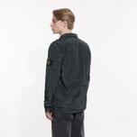 Мужская рубашка Stone Island Nylon Metal Overshirt Dark Green фото- 7