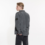 Мужская рубашка Stone Island Nylon Metal Overshirt Grey фото- 7