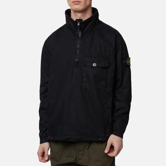 Мужская толстовка Stone Island T.CO+OLD Anorak Overshirt Black