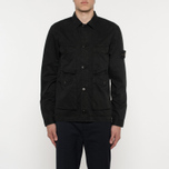 Мужская рубашка Stone Island T.CO+OLD Overshirt Black фото- 6