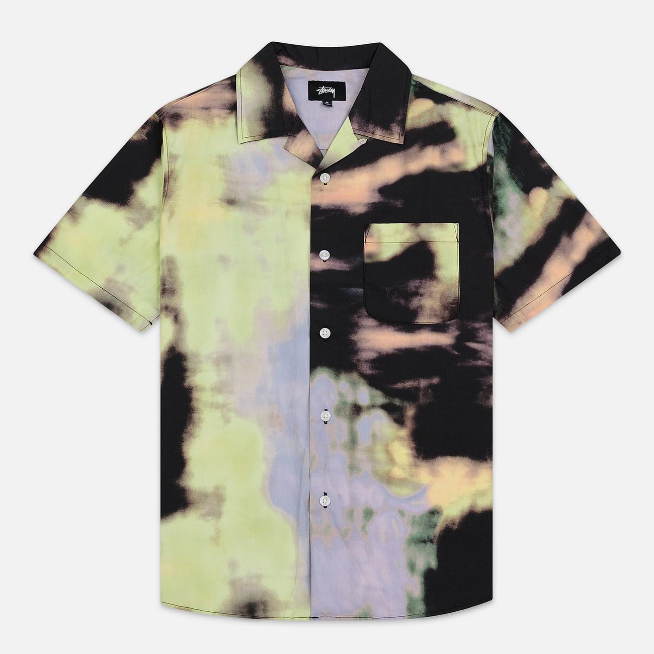 Мужская рубашка Stussy Leary Black