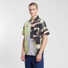 Мужская рубашка Stussy Leary Black фото- 1