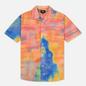 Мужская рубашка Stussy Leary Orange фото - 0