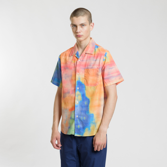 Мужская рубашка Stussy Leary Orange