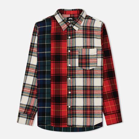 Мужская рубашка Stussy Mixed Tartan Multicolor