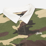 Stussy Twill Rugby Men's Shirt Camo photo- 1
