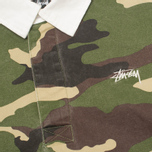 Stussy Twill Rugby Men's Shirt Camo photo- 2