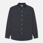 The Hill-Side Covert Chambray Button-Down Men's Shirt Dark Indigo photo- 0