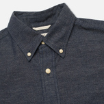 Мужская рубашка The Hill-Side Covert Chambray Button-Down Dark Indigo фото- 1