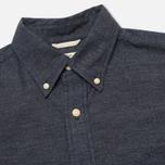 The Hill-Side Covert Chambray Button-Down Men's Shirt Dark Indigo photo- 1