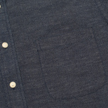 Мужская рубашка The Hill-Side Covert Chambray Button-Down Dark Indigo фото- 2