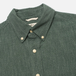 Мужская рубашка The Hill-Side Covert Chambray Button-Down Green фото- 1