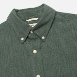 The Hill-Side Covert Chambray Button-Down Men's Shirt Green photo- 1