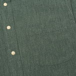 The Hill-Side Covert Chambray Button-Down Men's Shirt Green photo- 2