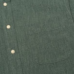 Мужская рубашка The Hill-Side Covert Chambray Button-Down Green фото- 2