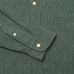 Мужская рубашка The Hill-Side Covert Chambray Button-Down Green фото- 3