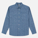 Мужская рубашка The Hill-Side Selvedge Chambray Button-Down Indigo фото- 0