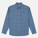 The Hill-Side Selvedge Chambray Button-Down Men's Shirt Indigo photo- 0