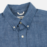 The Hill-Side Selvedge Chambray Button-Down Men's Shirt Indigo photo- 2
