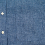 The Hill-Side Selvedge Chambray Button-Down Men's Shirt Indigo photo- 3