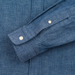 The Hill-Side Selvedge Chambray Button-Down Men's Shirt Indigo photo- 1