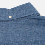 The Hill-Side Selvedge Chambray Button-Down Men's Shirt Indigo photo- 4