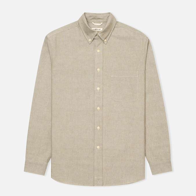 Мужская рубашка The Hill-Side Selvedge Oxford Cloth Button-Down Olive