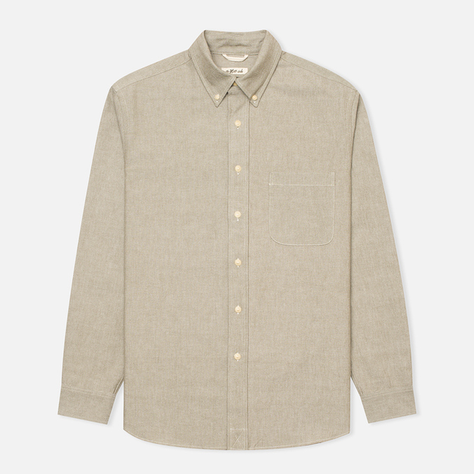 The Hill-Side Selvedge Oxford Cloth Button-Down Men's Shirt Olive