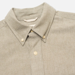 Мужская рубашка The Hill-Side Selvedge Oxford Cloth Button-Down Olive фото- 1