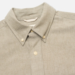 The Hill-Side Selvedge Oxford Cloth Button-Down Men's Shirt Olive photo- 1