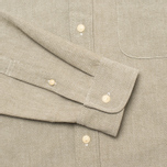 The Hill-Side Selvedge Oxford Cloth Button-Down Men's Shirt Olive photo- 3