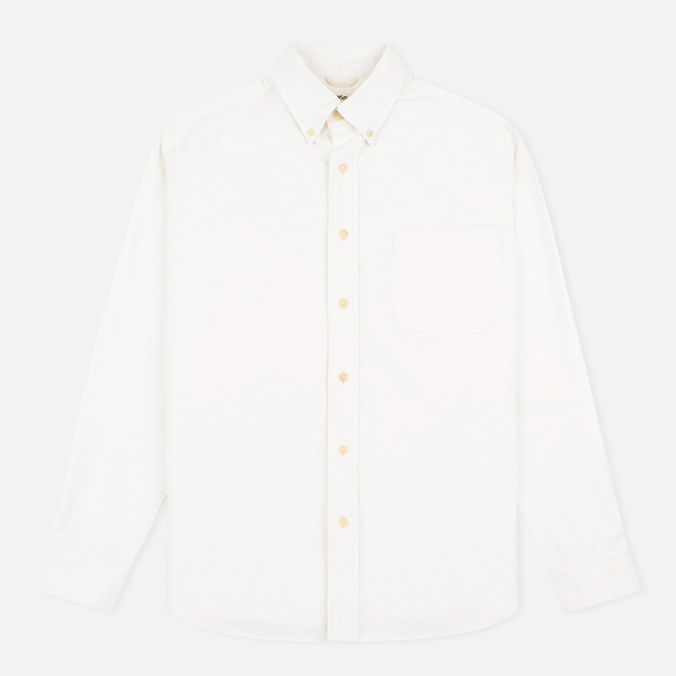 Мужская рубашка The Hill-Side Selvedge Oxford Cloth Button-Down White