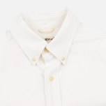 Мужская рубашка The Hill-Side Selvedge Oxford Cloth Button-Down White фото- 1
