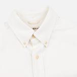 The Hill-Side Selvedge Oxford Cloth Button-Down Men's Shirt White photo- 1